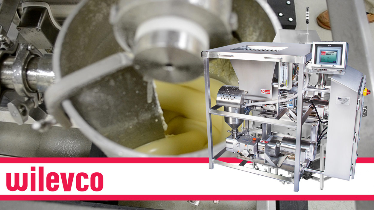 WILEVCO VIDEO - CONTINUOUS BATTER MIXING SYSTEM