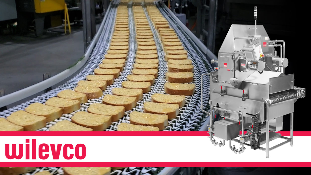 WILEVCO VIDEO - GARLIC BUTTER ON CHEESE BREAD