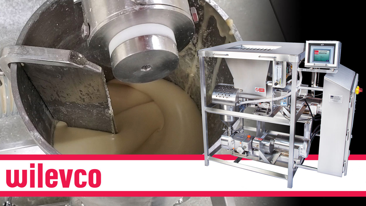 WILEVCO VIDEO - HIGH VISCOSITY BATTER CONTROL