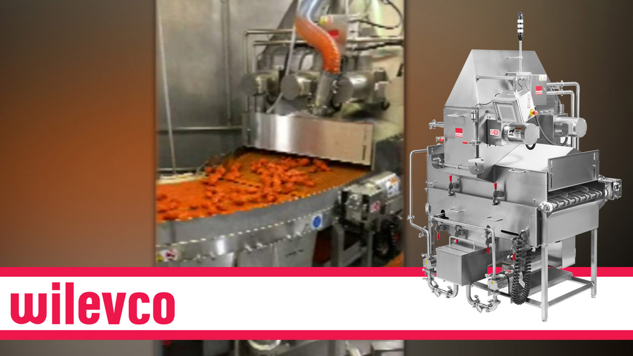 WILEVCO VIDEO - HOT SAUCE ON WINGS